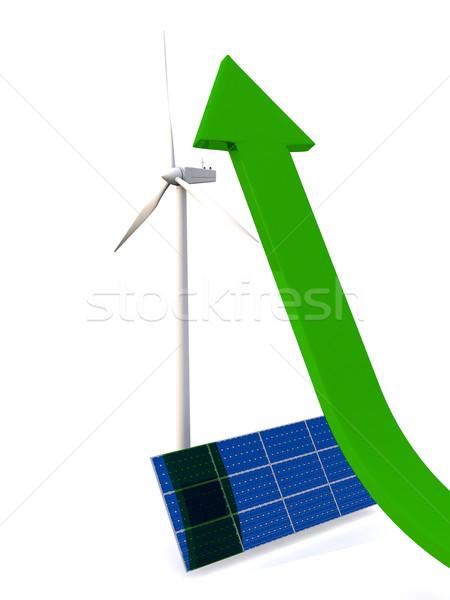 Growth of alternative energy Stock photo © Harlekino