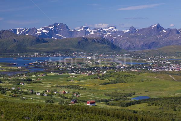 Lofoten panorama Stock photo © Harlekino