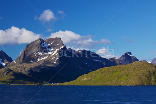 Scenic island Stock photo © Harlekino