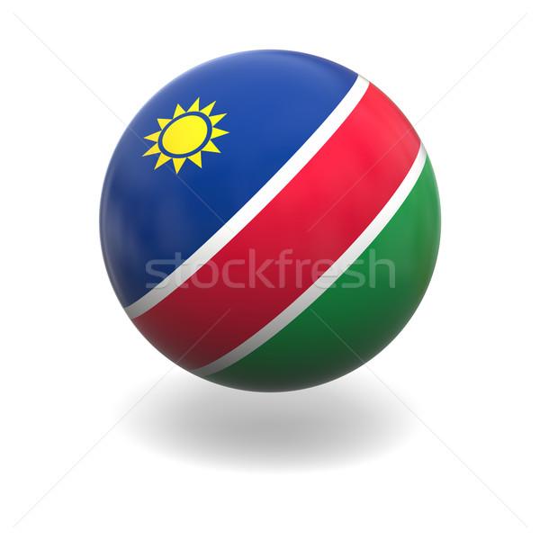Namibia flag Stock photo © Harlekino