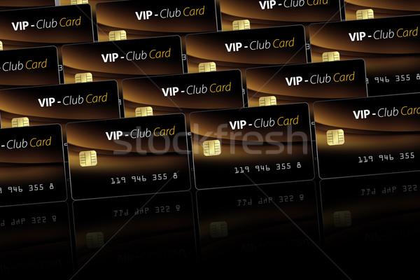 electronic card Stock photo © Hasenonkel