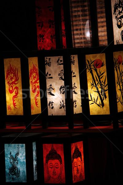china lanterns Stock photo © Hasenonkel