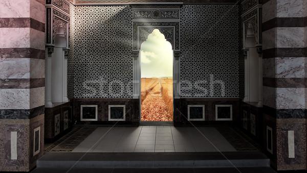 heavens gate Stock photo © Hasenonkel