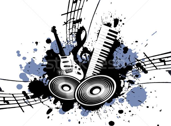 Grunge Music Stock photo © Hasenonkel