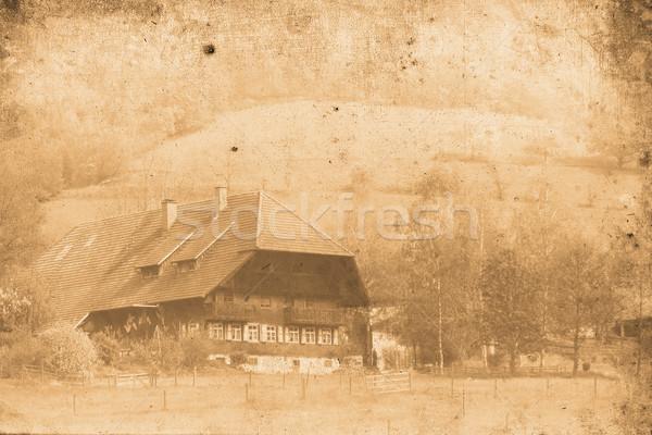 old Farmhouse Stock photo © Hasenonkel