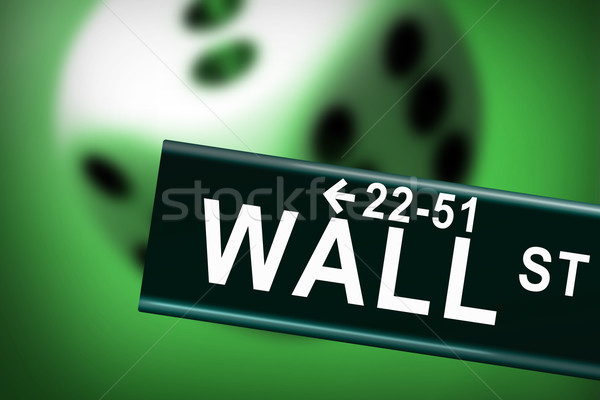 Wall Street казино бизнеса дороги здании город Сток-фото © Hasenonkel