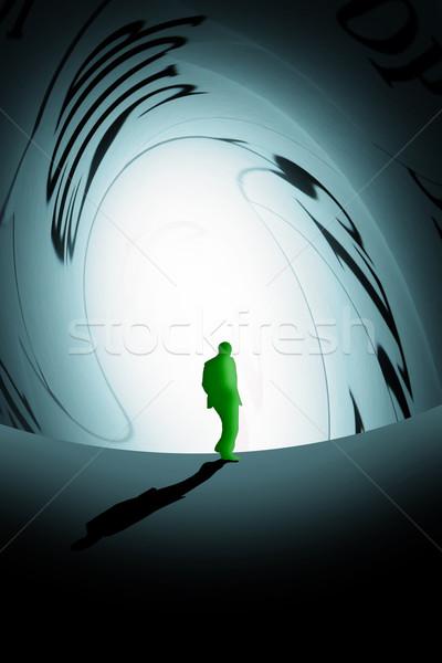 person under pressure Stock photo © Hasenonkel