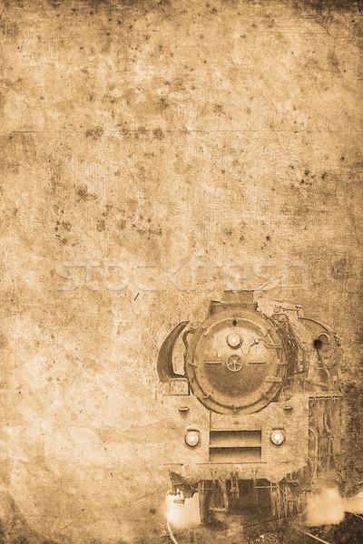 steam locomotive Stock photo © Hasenonkel