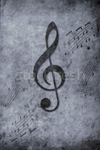 музыку старые музыки отмечает ретро дизайна посмотреть Сток-фото © Hasenonkel