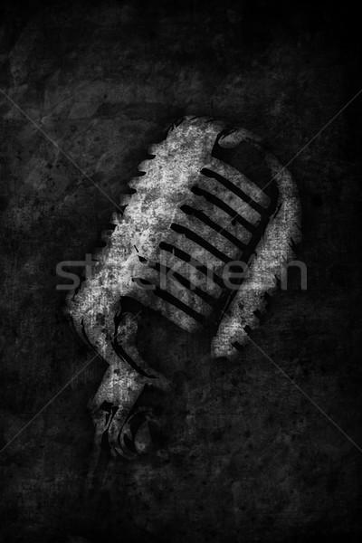 Microphone Stock photo © Hasenonkel