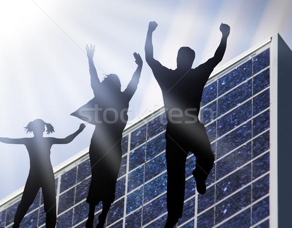 Sun Power Stock photo © Hasenonkel