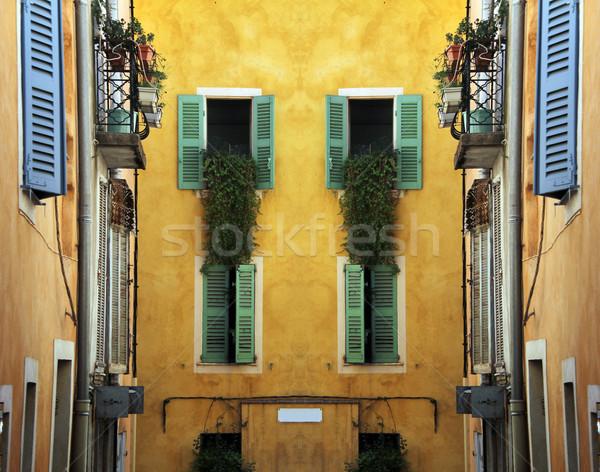 southern facades Stock photo © Hasenonkel