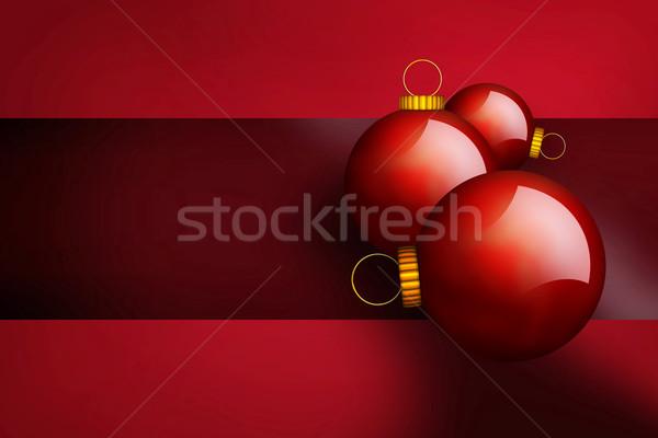 Christmas szczęśliwy projektu szkła tle Zdjęcia stock © Hasenonkel