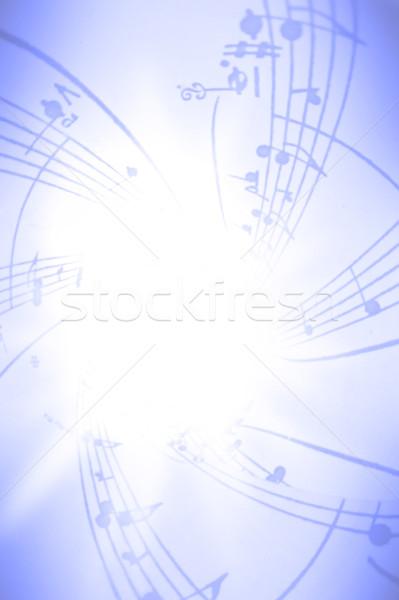 音楽 テクスチャ 手紙 ポスター 論文 ノート ストックフォト © Hasenonkel
