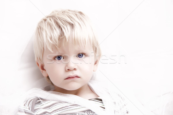 blonde boy Stock photo © Hasenonkel