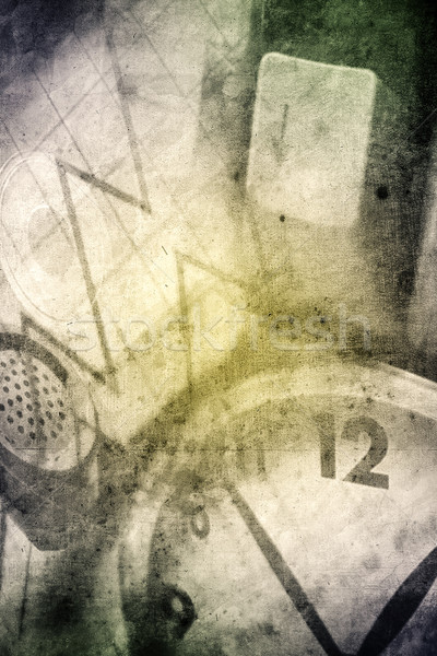 Działalności nice retro projektu wygląd Internetu Zdjęcia stock © Hasenonkel