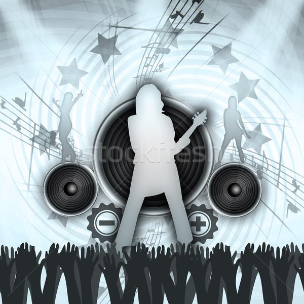 Grunge Concert Stock photo © Hasenonkel