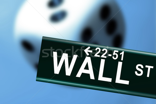Wall Street Casino Stock photo © Hasenonkel