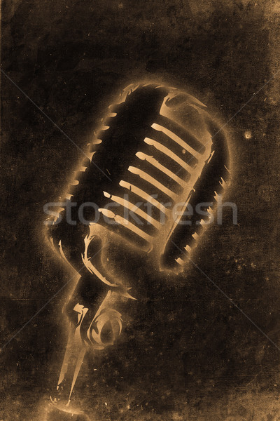 Microphone Stock photo © Hasenonkel