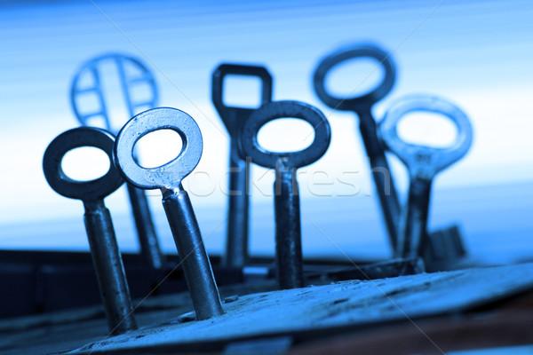 Keys Stock photo © Hasenonkel