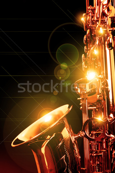 SAX Stock photo © Hasenonkel