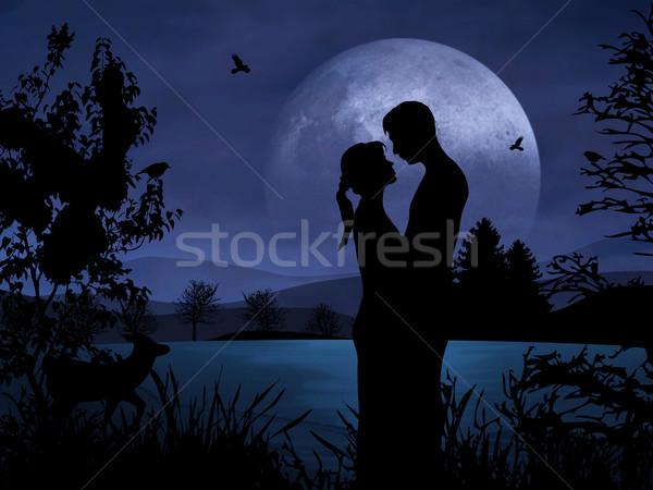 Couple in Romance Stock photo © Hasenonkel