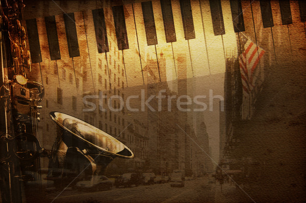 Broadway music Stock photo © Hasenonkel