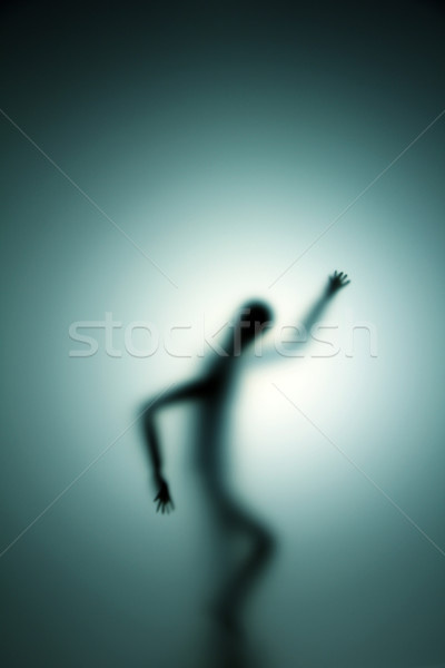 ghostly person Stock photo © Hasenonkel