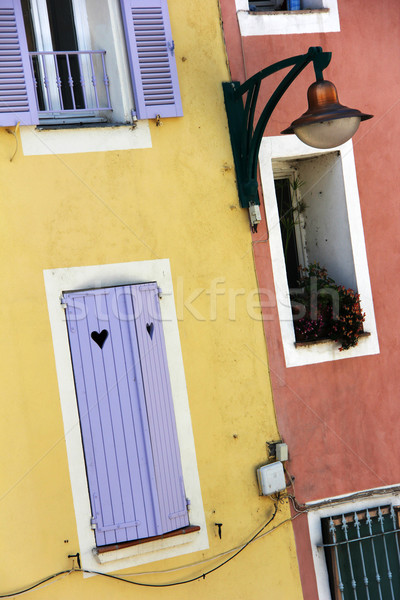 southern facades Stock photo © Hasenonkel