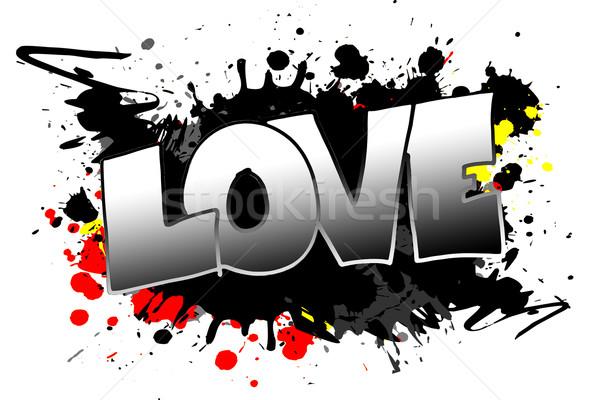 Love Grunge Stock photo © Hasenonkel