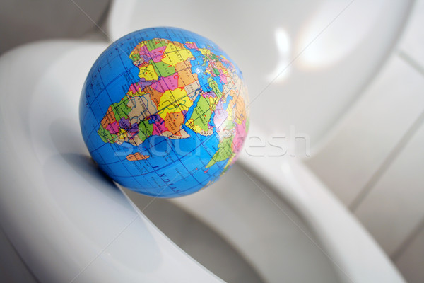 Stock photo: world's abyss