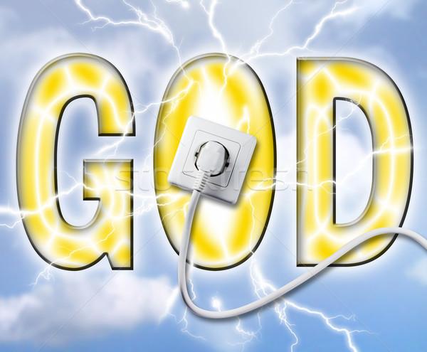gods power Stock photo © Hasenonkel