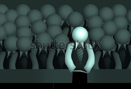 Grupo negocios hombres orador maestro padres Foto stock © Hasenonkel