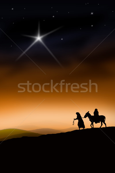The Christmas Way Stock photo © Hasenonkel