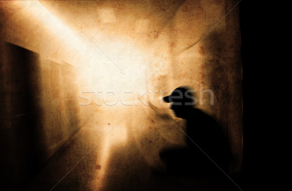 psychic pressure Stock photo © Hasenonkel
