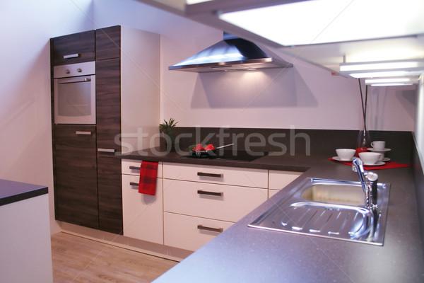 kitchen Stock photo © Hasenonkel