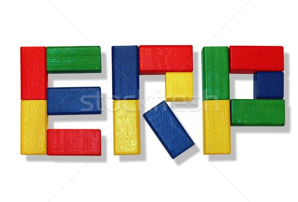 ERP Software Stock photo © Hasenonkel