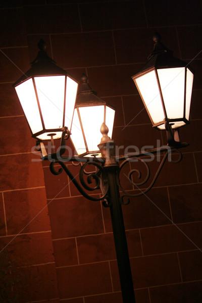 old street lights Stock photo © Hasenonkel