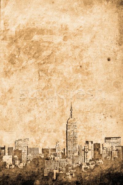 Manhattan Stock photo © Hasenonkel