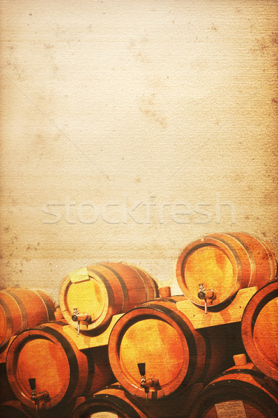 wine cellar Stock photo © Hasenonkel