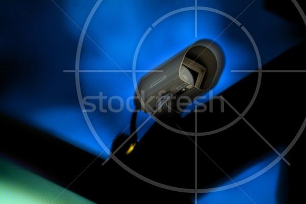 контроль технологий очки посмотреть безопасности безопасной Сток-фото © Hasenonkel