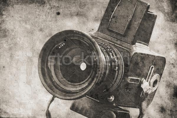 photo camera Stock photo © Hasenonkel