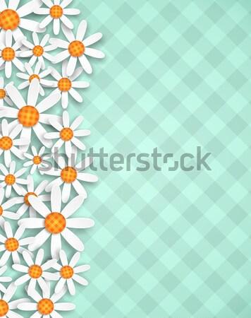 scrapbooking flowers background Stock photo © hayaship