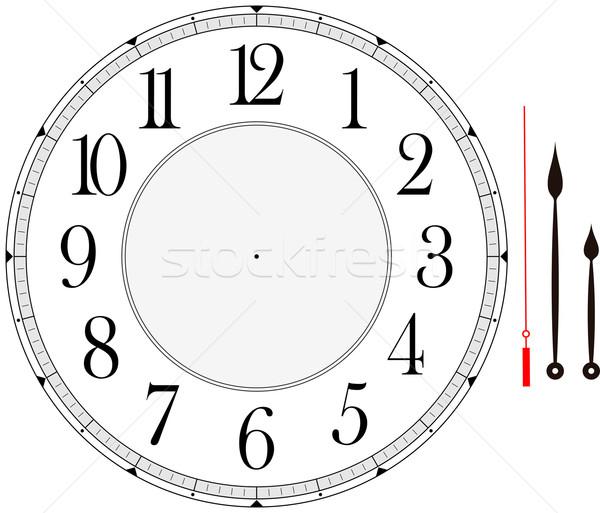 Циферблат часов без стрелок