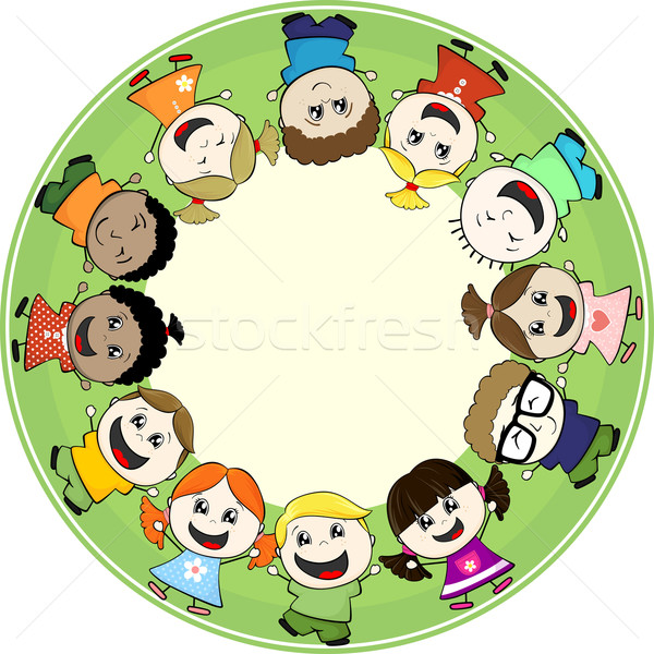 childs together Stock photo © hayaship