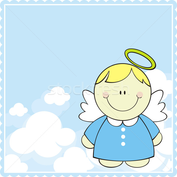 baby angel Stock photo © hayaship