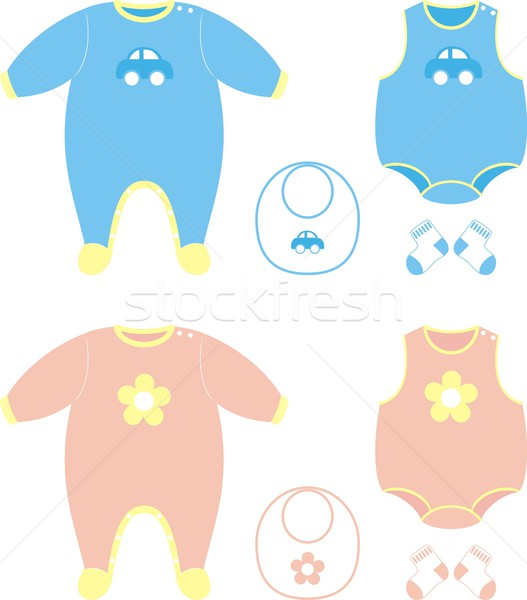Baby cloths set Stock photo © hayaship