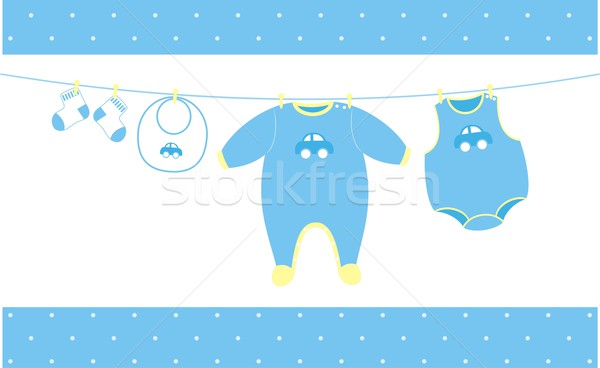 Baby cloths hanging Stock photo © hayaship