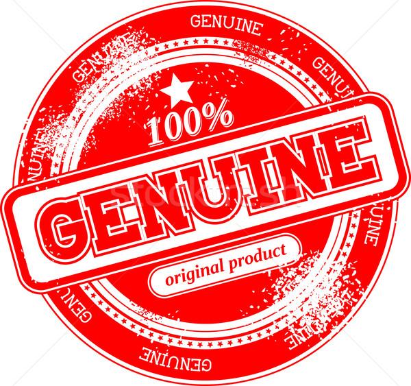 Véritable grunge tampon isolé blanche signe Photo stock © hayaship