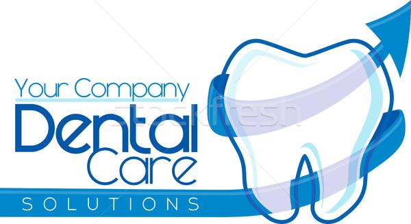 dentist logo vector Stock photo © hayaship